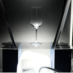 グラスの撮影
