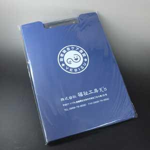 バインダーへのデザイン特殊印刷01
