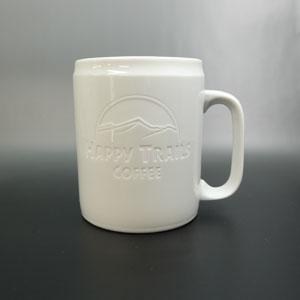 マグカップ オリジナル彫刻 ロゴデザイン