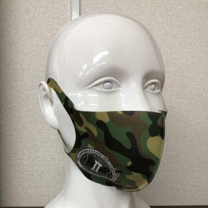 オリジナルマスク 迷彩