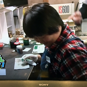 村上彫刻 テレビ取材 スタッフ