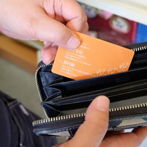 カードサイズの経営理念カード